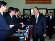 Le PM Nguyen Xuan Phuc en déplacement à Thua Thien-Hue