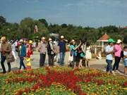 Da Lat : Plus de 60.000 visiteurs à l'exposition de fleurs et de plantes d'agrément