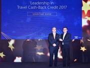 Maritime Bank reçoit le Prix de la meilleure carte de crédit de remboursement de voyage 2017