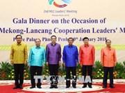 Le PM vietnamien termine sa participation au Sommet de coopération Mékong-Lancang
