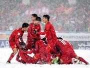 Les médias internationaux impressionnés par l'accueil de l'équipe vietnamienne U23
