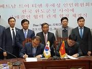 Renforcement de la coopération entre la province de Thua Thien - Hue et des localités sud-coréennes
