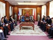 Le Laos félicite le Vietnam pour les 88 ans de la fondation du PCV