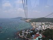 Kien Giang : Inauguration du plus long téléphérique du monde à Hon Thom