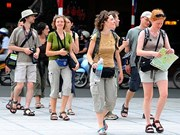 Bond de 42% de touristes étrangers en janvier