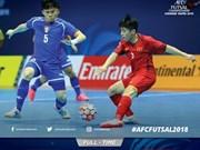 Championnat d'Asie de futsal : le Vietnam se qualifie pour les quarts de finale