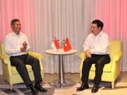 Vietnam et Singapour promeuvent les relations de coopération bilatérale