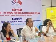 De nombreuses opportunités s'ouvrent aux entreprises vietnamiennes à Cuba