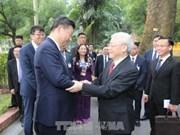 Nouvel an lunaire : Vietnam et Chine échangent des lettres de félicitations