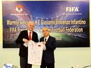 La FIFA continue de favoriser le développement du football au Vietnam