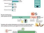 Le pays compte 561.064 entreprises en activité