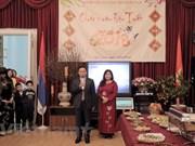 Rencontre des Vietnamiens en Russie à l'occasion du Têt du Chien 2018