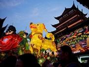 Les Asiatiques fêtent le Nouvel an lunaire