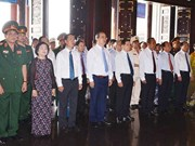 Rencontre en l'honneur des révolutionnaires de Saigon-Cho Lon-Gia Dinh