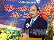 Le PM applaudit les résultats commerciaux de Vietinbank et de Vietcombank l'année dernière