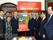 Les permanenciers du gouvernement souhaitent longévité au général Dang Quan Thuy