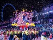 Le Vietnam à la Chingay Parade 2018 à Singapour