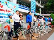 """Hô Chi Minh-Ville : Lancement de l'action """" Aller à l'école en toute sécurité"""""""