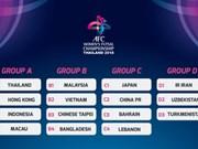 Le Vietnam présent au Championnat d'Asie de futsal féminin 2018