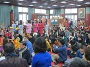 Un requiem de paix en République de Corée