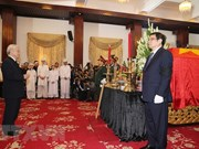 Visites de condoléances à l'ancien PM Phan Van Khai à Hanoi et HCM-Ville