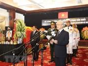 Cérémonie en mémoire de l'ancien Premier ministre Phan Van Khai