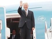 Le leader du PCV Nguyen Phu Trong effectuera des visites en France et à Cuba