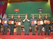 Remise des prix du concours d'écriture sur les liens Vietnam-Cambodge