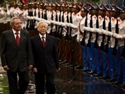 Entretien Nguyen Phu Trong – Raul Castro