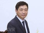 Insigne pour la paix et l'amitié entre les nations à l'ambassadeur sud-coréen au Vietnam