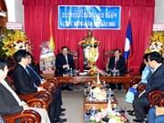 Nouvel An du Laos 2018 : les dirigeants de Ho Chi Minh-Ville formulent leurs vœux