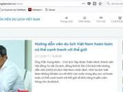 Mise en place d'un registre des guides vietnamiens par Viettel