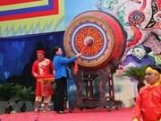 La Présidente de l'AN Nguyên Thi Kim Ngân à la fête de Bà Triêu 2018