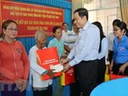Chol Chnam Thmay: le chef du FPV Trân Thanh Mân  se rend à Trà Vinh