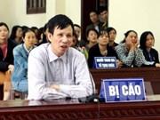Thai Binh : une personne condamnée pour organisation de mouvement insurrectionnel