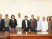 Intensifier la solidarité et l'amitié Vietnam - Cuba