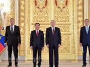 Président russe Poutine : relation Russie-Vietnam en bon développement