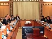Hô Chi Minh-Ville veut développer son partenariat avec le Land allemand de Rhénanie-Palatinat