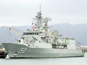 Trois navires de la Royal Australian Navy à HCM-Ville