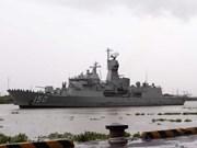 Trois navires australiens en visite à Hô Chi Minh-Ville