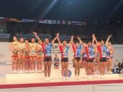 Coupe du monde de gymnastique Aérobic Suzuki 2018 : neuf médailles pour le Vietnam