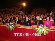 Les 1.050 ans du premier État féodal du Vietnam célébrés à Ninh Binh