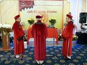 Des Vietnamiens en Russie célèbrent la fête des rois fondateurs Hung