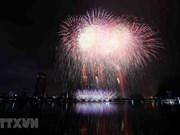 Ouverture du festival international de feux d'artifice de Dà Nang