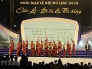 Ouverture de la saison touristique de Cua Lo 2018
