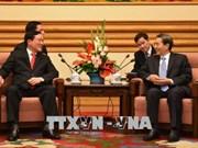 Le président de la Cour populaire suprême en visite en Chine