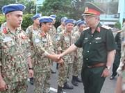 Maintien de la paix : l'hôpital de campagne du Vietnam pour la MINUSS est prêt