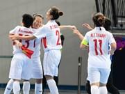 Futsal féminin : le Vietnam présent aux quarts de finale du Championnat d'Asie