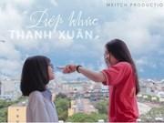 Cérémonie de remise des prix d'un concours de courts-métrages pour les lycéens de Hanoï