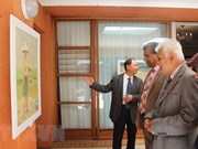 Exposition de peintures sur les mers vietnamiennes en Afrique du Sud